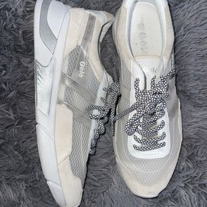 Gola white and beige sneakers